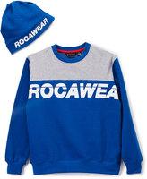 Rocawear Blue & Gray 'Rocawear' Pullover - Boys