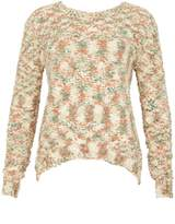 Izabel London Multi Print Knitted Jumper