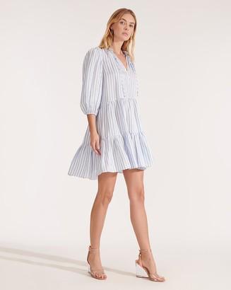 Veronica Beard Hawken Striped Dress