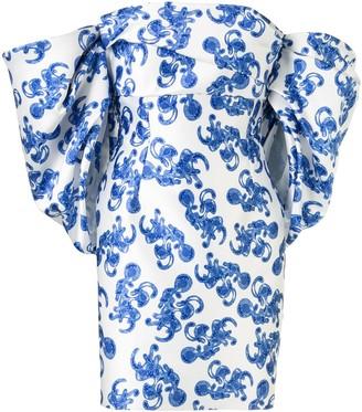 SOLACE London Elina off-shoulder dress