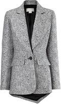 Antonio Berardi Black and White Textured Jacket