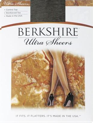 Berkshire Women's Ultra Sheer Control Top Pantyhose 4419 - Reinforced Toe