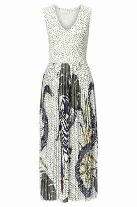 Rich & Royal rich&royal Women's Dress with v Neck
