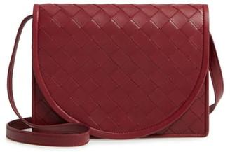 Bottega Veneta Intrecciato Leather Wallet on a Strap