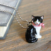 Undercover Cat Charm Necklace