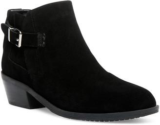 Steve Madden Women's Casual boots BLK - Black Satie Suede Bootie - Women