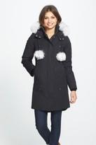 Women's Moose Knuckles 'Stirling' Down Parka With Genuine Fox Fur Trim