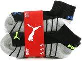 Puma Men's Quarter Crew Sport Socks - Pack of 6 Pairs, Shoe Size 6 - 12