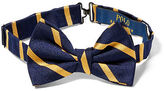 Ralph Lauren Striped Silk Repp Bow Tie