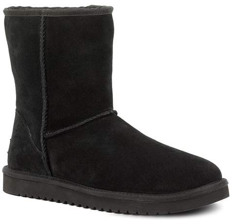 051942a2f04 BY UGG Classic Short Genuine Shearling & Faux Fur Lined Boot - Wide Width  Available