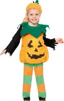 Smiffys Smiffy's Baby Girl's Little Pumpkin Costume Top Trousers and Hat