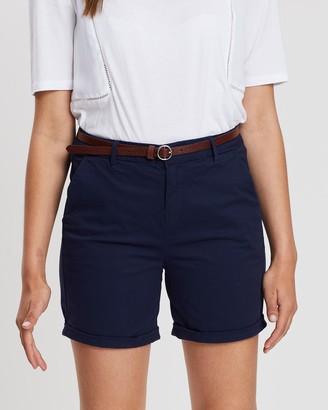Scotch & Soda Belted Chino Shorts