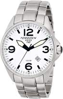 Torgoen Swiss Men's T10205 Dial 3-Hand Analog Stainless Steel Watch