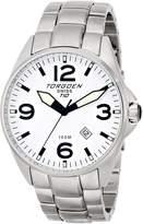Torgoen Swiss Men's T10205 Dial 3-Hand Analog Stainless Steel Watch