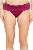 Athena Tulum Texture Lani Banded Bikini Bottom Women's Swimwear
