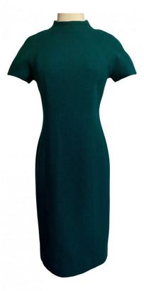 Christian Dior Green Wool Dresses