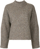 H Beauty&Youth ribbed neck jumper