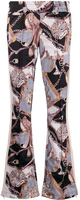 Palm Angels low-rise patterned track pants