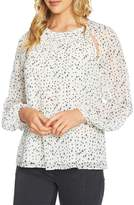 1 STATE 1.STATE Cutout Pintuck Blouse