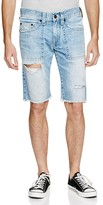 True Religion Ricky Relaxed Fit Denim Shorts in Down Rock