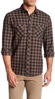 Jeremiah Heston Herringbone Long Sleeve Plaid Shirt
