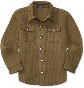 Ralph Lauren Little Boys' Quilted Shirt Jacket