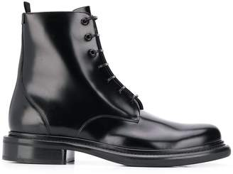 Giorgio Armani lace-up ankle boots