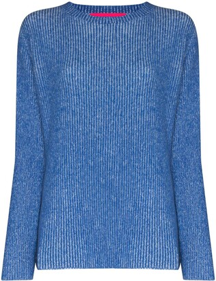 The Elder Statesman Ribbed Knit Cashmere Jumper
