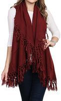 Nadya's Closet Fringe Edge Vest