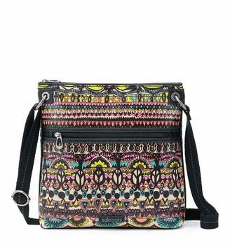 Sakroots Women's Flat Crossbody Cross Body Handbag