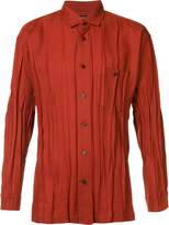 Issey Miyake pleated shirt