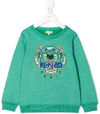 Kenzo Kids Embroidered Tiger Sweatshirt
