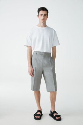 Cos Knee-Length Linen Shorts