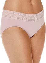 Jockey Seamless Lace-Waist Hipster Panties - 2123