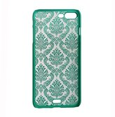 Iphone 7 case,LAIMENG Carved Damask Vintage Pattern Matte Hard Case Cover For iPhone 7 4.7inch (Green)