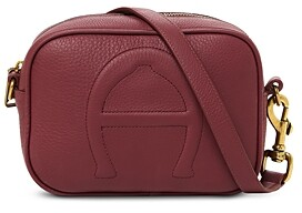 Etienne Aigner Adeline Small Leather Camera Crossbody