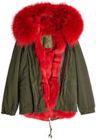 Mr & Mrs Italy Parka with Fur-Trimmed Hood and Lining
