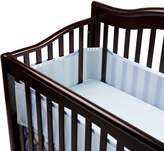 BreathableBaby Breathable Safer Bumper, Fits All Cribs - Blue
