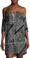 Vix Paula Hermanny Akash Cordon Mini Dress