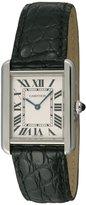 Cartier Women's W5200005 Tank Solo White Watch