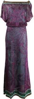 Missoni Floral Knit Maxi Dress