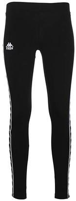 Kappa Banda Anen (Black/Black) Women's Casual Pants