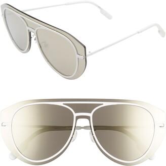 Kenzo 147mm Aviator Shield Sunglasses