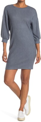 Collective Concepts 3/4 Bubble Sleeve Dress