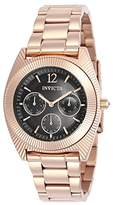 Invicta Women's 'Angel' Quartz Stainless Steel Casual Watch, Color:Rose Gold-Toned (Model: 23751)