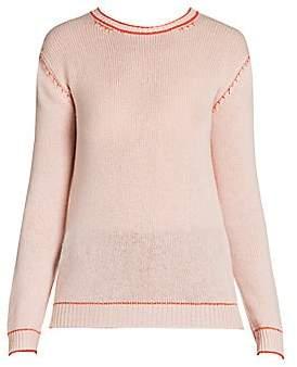 Marni Women's Contrast Stitch Cashmere Knit Crewneck