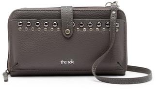 The Sak Iris Leather Large Smartphone Crossbody Bag