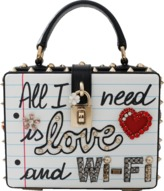 Dolce & Gabbana All I Need Is Love And Wifi Bag