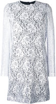 MSGM lace dress - women - Viscose/Polyamide/Polyester - 40