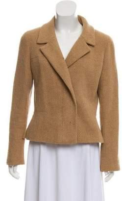 Chanel Cashmere Notch-Lapel Jacket
